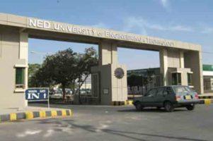 NED University achieves 301st spot